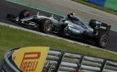 Rosberg takes pole in dramatic session