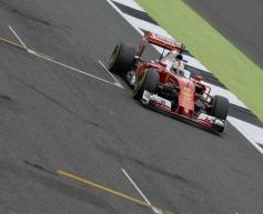 Vettel admits Ferrari 'a bit behind'