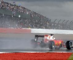 Vettel: 'No need to panic' after Silverstone slump