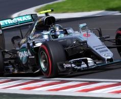 Rosberg leads Hamilton in Monza FP1