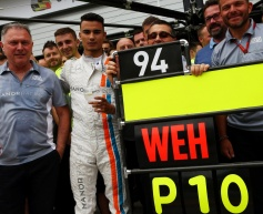Wehrlein delighted by maiden F1 point
