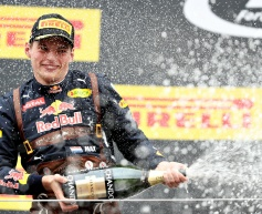 Verstappen elated at second career podium