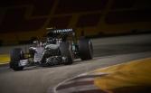 Rosberg takes pole ahead of Ricciardo