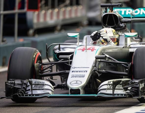 Lewis Hamilton /Mercedes