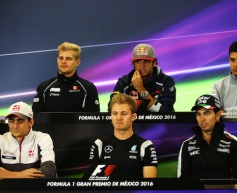 2016 Mexican GP - Thursday press conference
