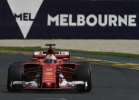 Ferrari secures first and second row starts