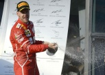 Vettel wins the Australian GP