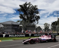 Force India enjoyed straightforward start