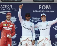 Hamilton beats Vettel for pole