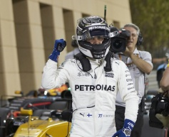 Bottas claims first career pole
