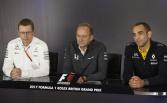2017 British GP - Friday press conference
