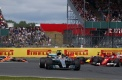 Why did the Silverstone race end as it did?