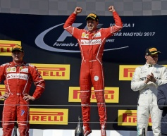 Vettel victorious at Hungaroring
