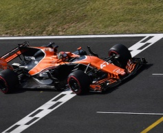 McLaren enjoys its best race of the season