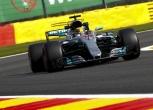 Raikkonen and Hamilton fastest on F1 return