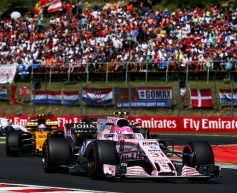 Force India breaks the 100 points mark