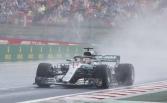 Hamilton stops Ferrari's dominance with pole