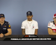 2018 British GP - Thursday Press Conference