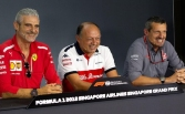 2018 Singapore GP - Friday Press Conference