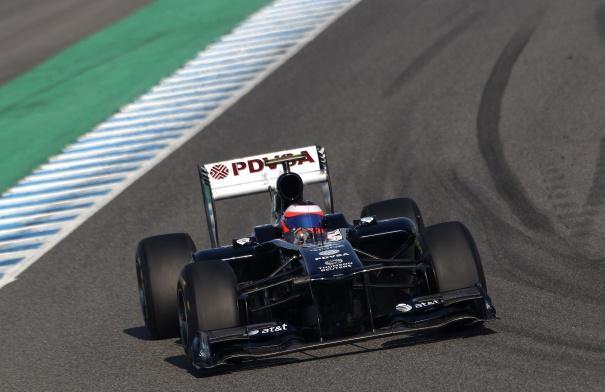 Barrichello sends Williams top as Jerez test ends