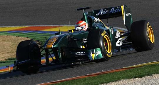 Team Lotus enjoy productive day