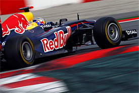 Vettel fastest on Barcelona day 2
