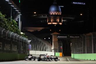 Singapore set for hazy grand prix