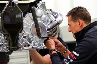Only four current drivers better than Schumacher