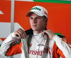 Hulkenberg hopes for race seat news in two weeks