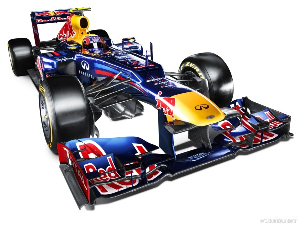 Red Bull features mysterious air intake on stepped nose
