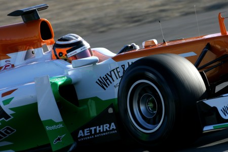 Aethra joins Sahara Force India for 2012