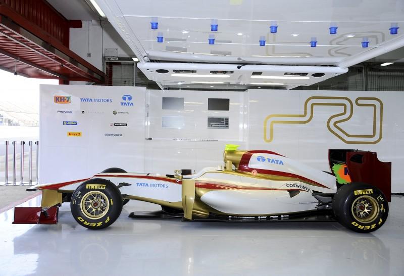 HRT unveils 2012 challenger