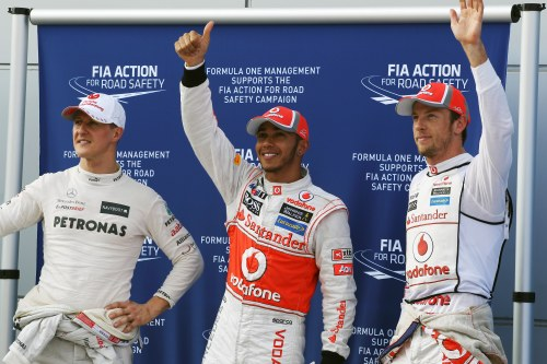 Hamilton storms to second consecutive pole in Malaysia