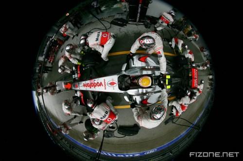 Hamilton: McLaren must improve race pace