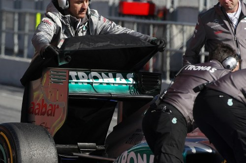 Stewards declare Mercedes legal