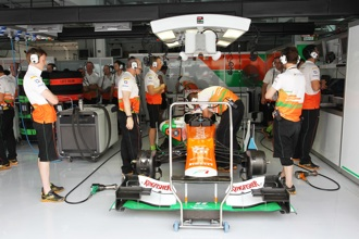 FOM leaves Force India out of TV coverage on Saturday