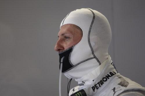 Schumacher's bad luck in 2012 'incredible' says Sauber