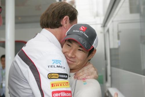 Kobayashi asks fans for money to save F1 career