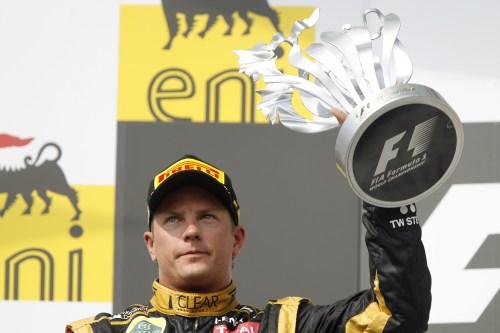 Lotus confirms Raikkonen for 2013
