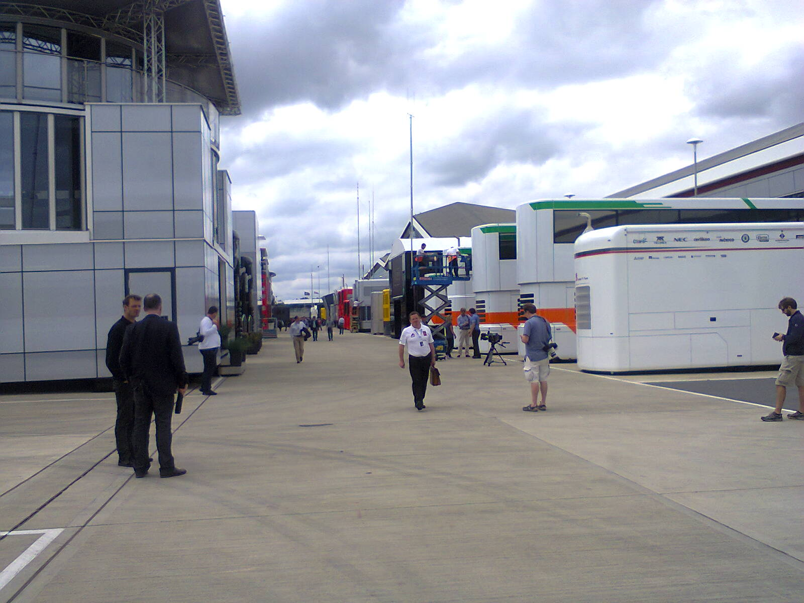 Thursday at Silverstone