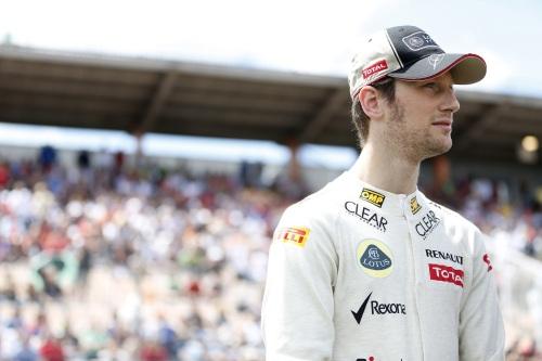 Grosjean hopes to keep Lotus seat in 2013