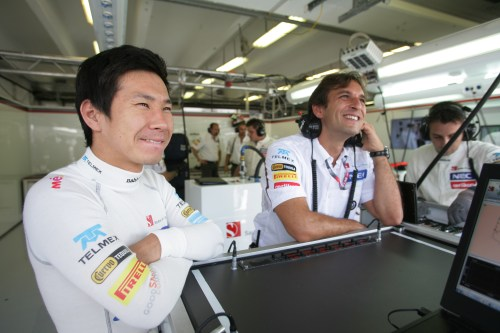 Sauber not worried about 2013 driver situation