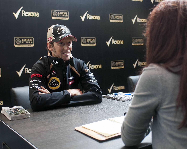 Exclusive Q&A with Romain Grosjean