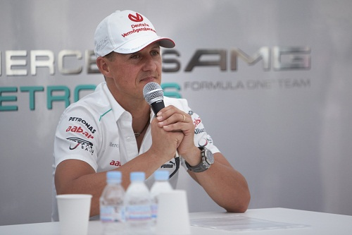 Time to say goodbye for Schumacher