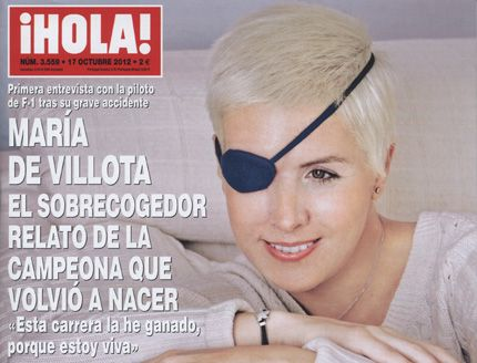 De Villota 'terrified' when she saw face injuries