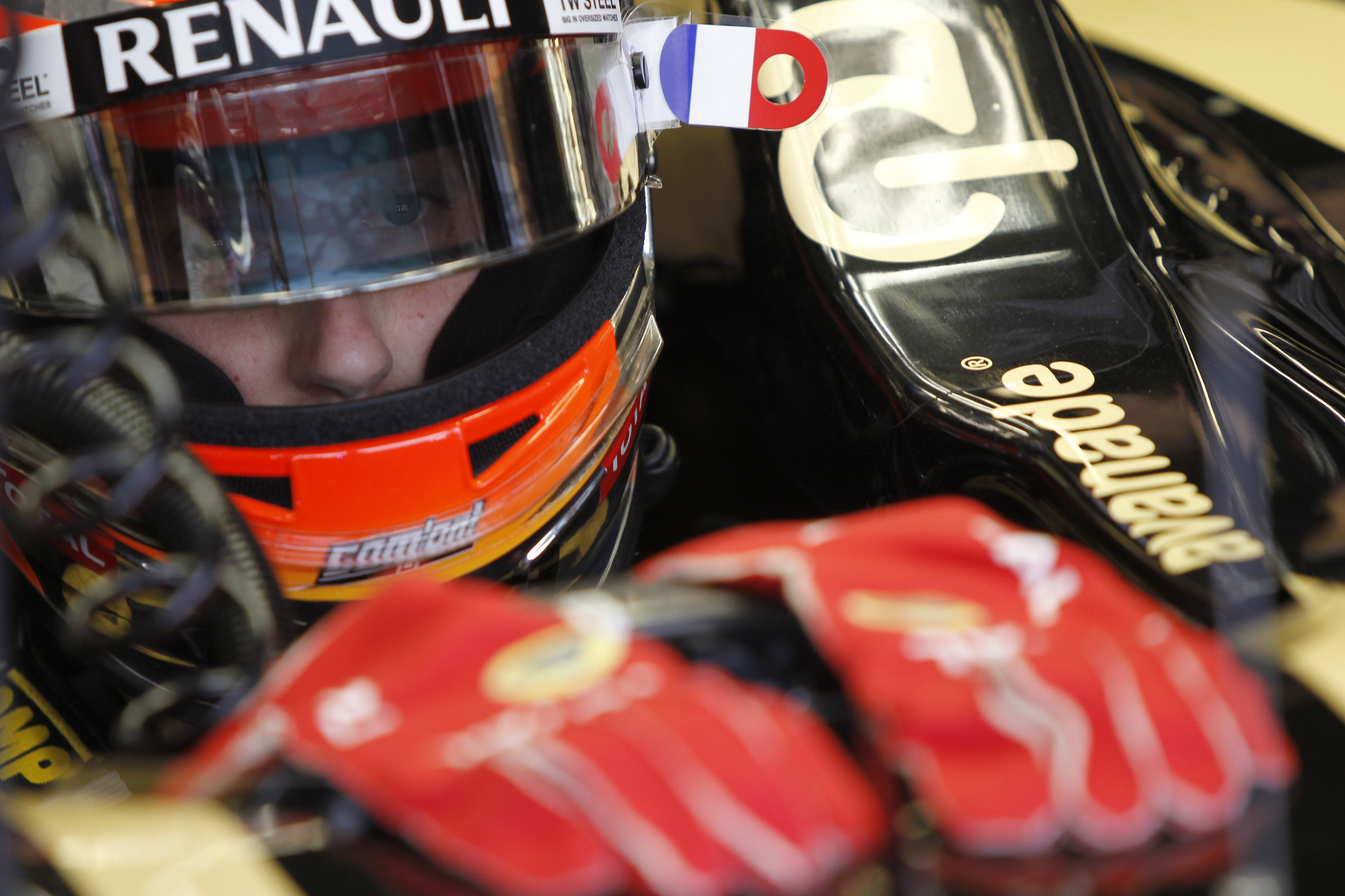 Which way to America for Grosjean