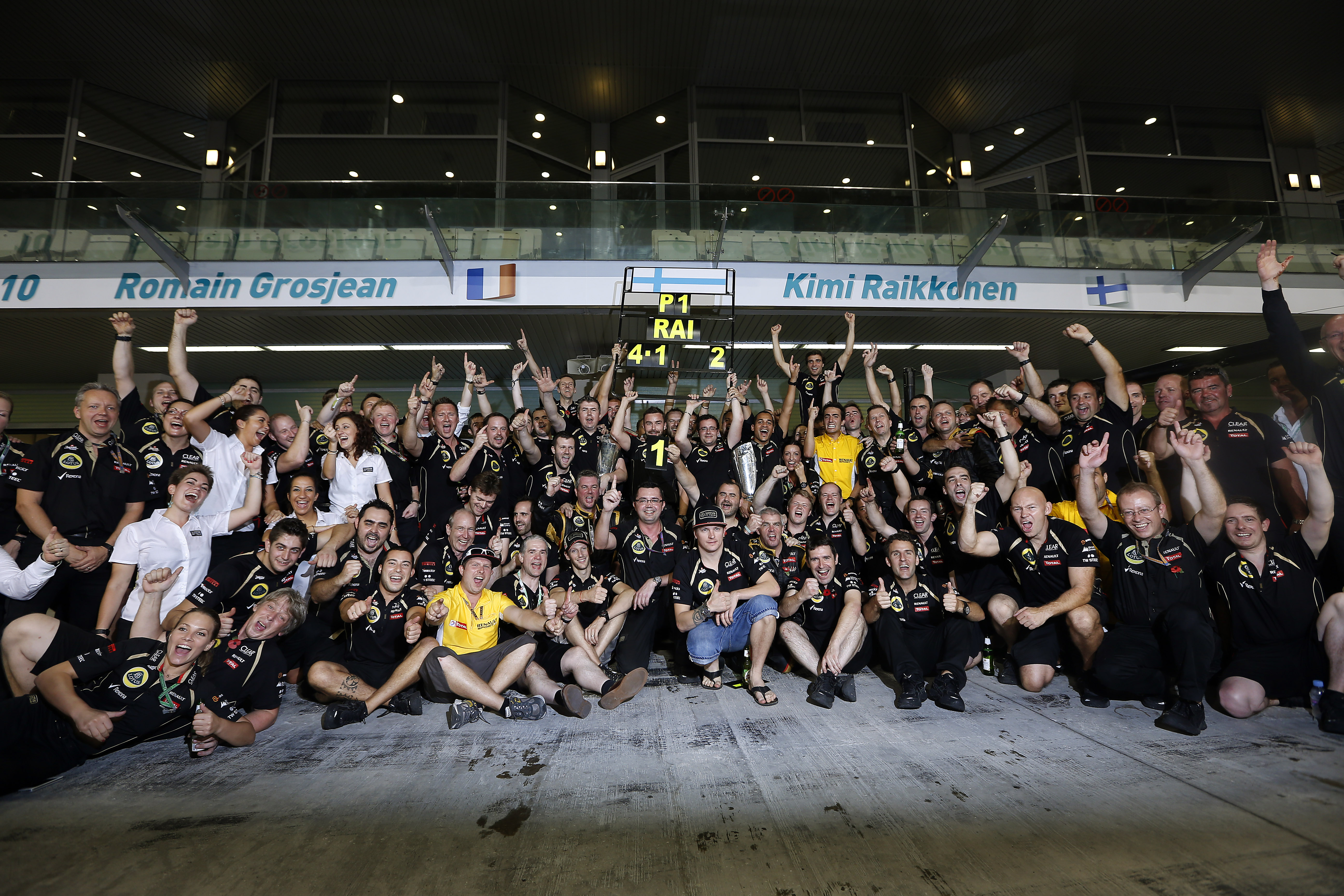 Lotus relieved to end win drought