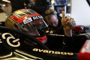 Fantastic Interlagos excites Grosjean