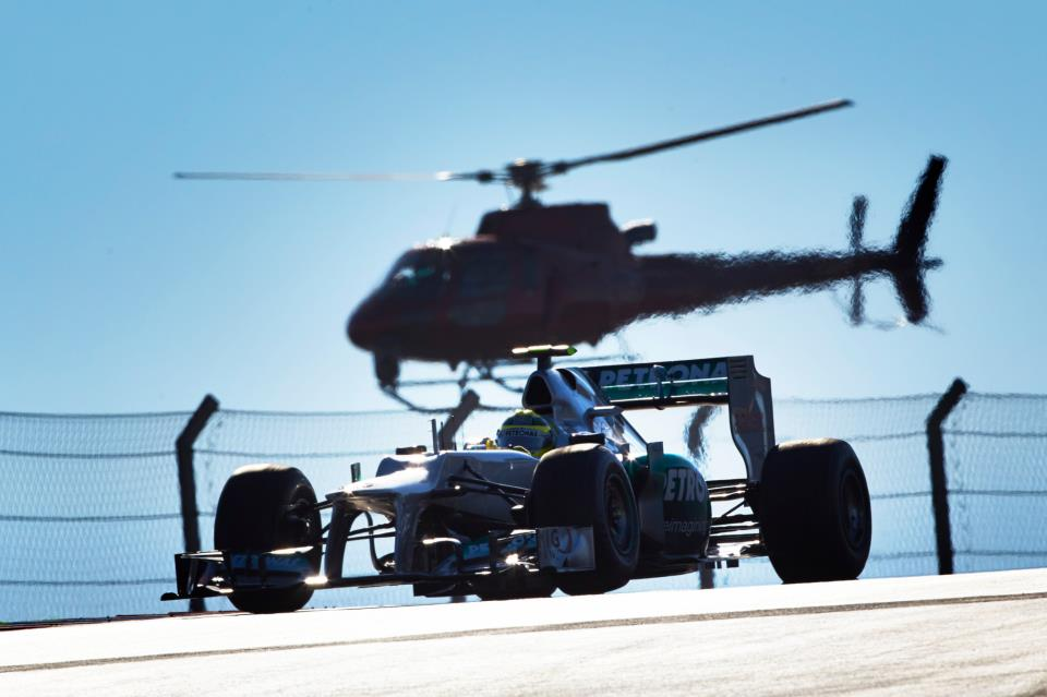 Tyre issues hurting Mercedes
