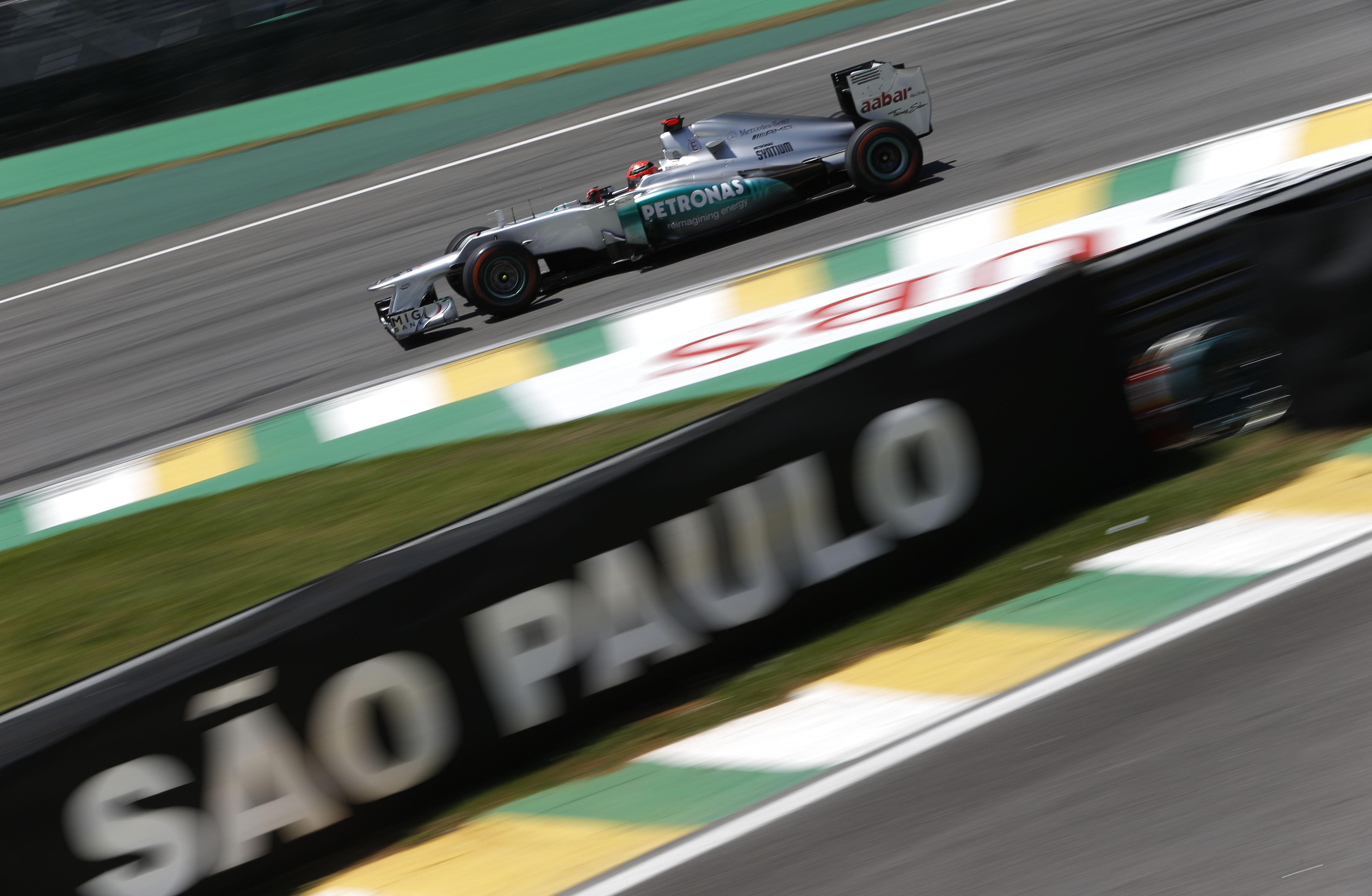 Ecclestone regrets damage to Schumacher's legend